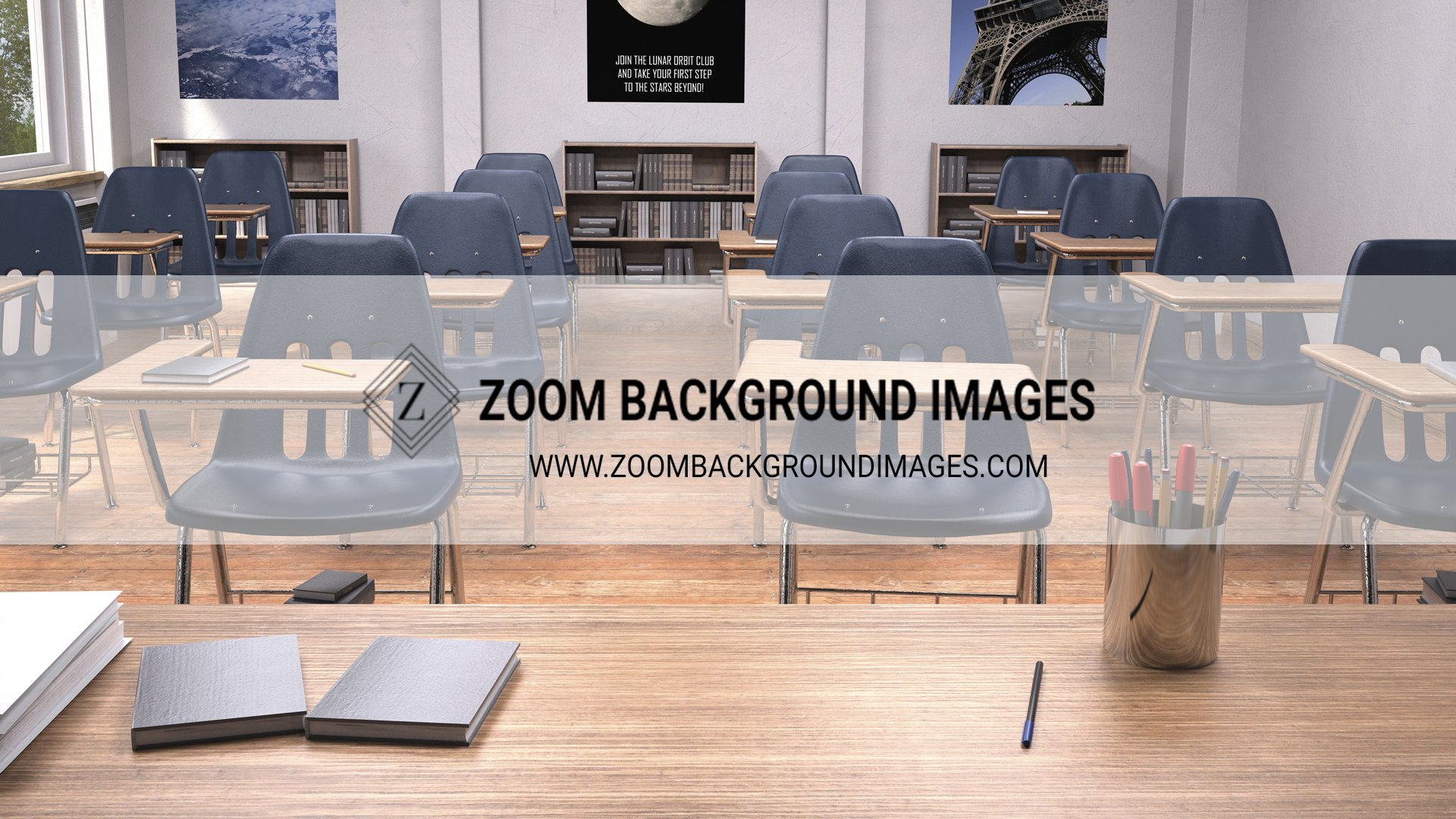 back to school themed virtual backgrounds for zoom meetings for teachers and students